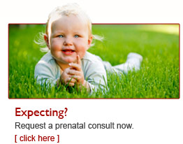 Expecting? Request a Prenatal Visit Now.